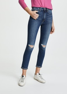 Joe's Jeans The Charlie Raw Cuff Cropped Jeans
