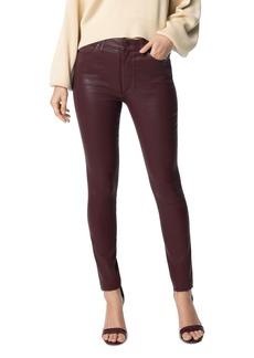 Joe's Jeans The Charlie Skinny Ankle Jeans in Merlot
