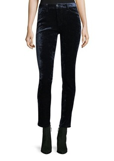 Joe's Jeans The Charlie Skinny-Leg Velvet Pants