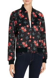 Joe's Jeans The Elsie Floral Printed Bomber Jacket