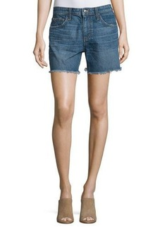 Joe's Jeans The Ex-Lover Raw-Hem Denim Shorts