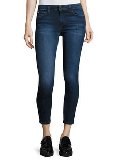 Joe's Jeans The Icon Mid-Rise Cropped Skinny Jeans