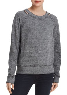 Joe's Jeans The Isabella Distressed Sweatshirt