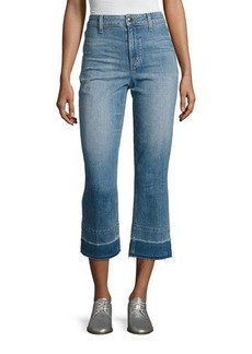 Joe's Jeans The Jane High-Rise Straight Cropped Jeans with Released Hem