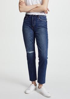 Joe's Jeans The Kass Waistless Slim Straight Ankle Jeans