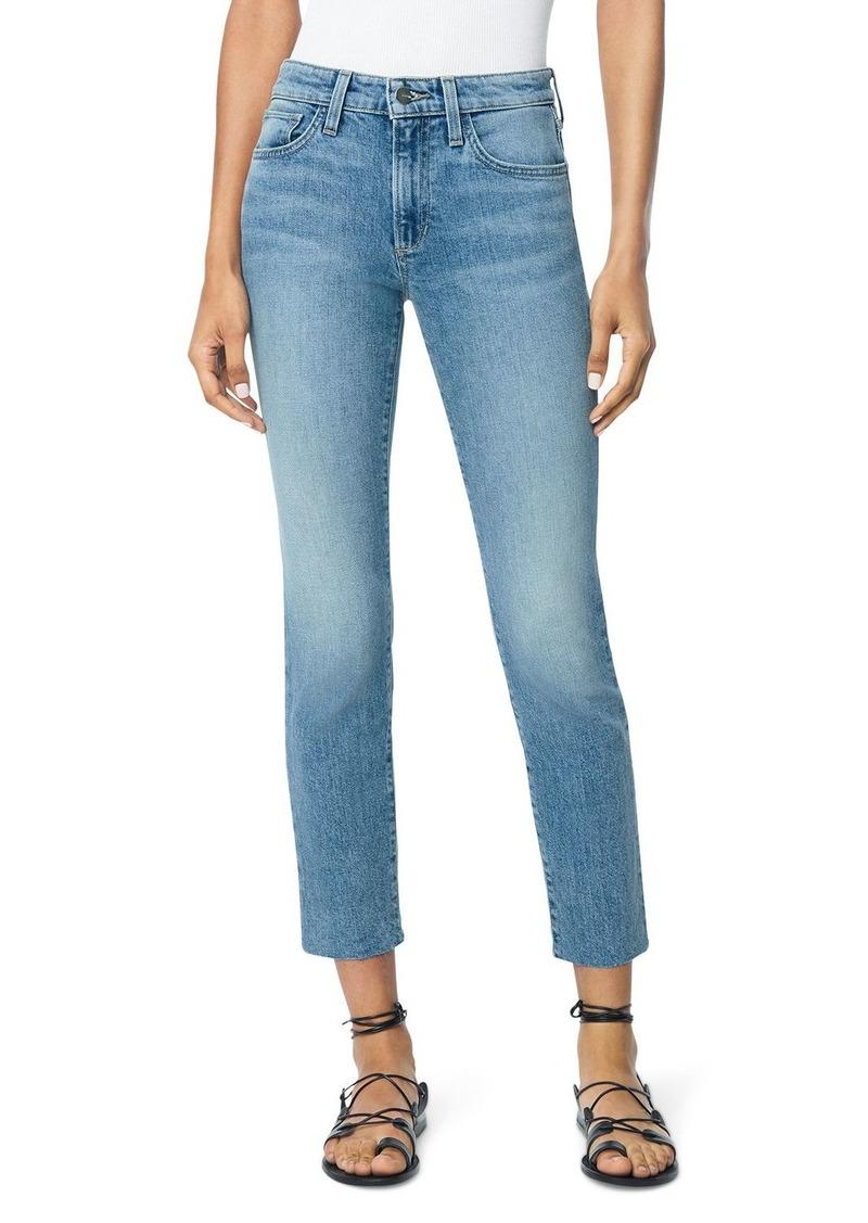 Joe's Jeans The Lara Raw Hem Straight Ankle Jeans in Charisma