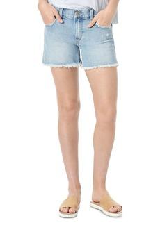 Joe's Jeans The Ozzie 4 Short Fray Hem Denim Cutoffs in Jade