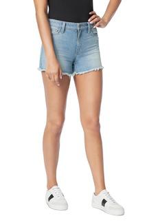 Joe's Jeans The Ozzie Cotton Cutoff Denim Shorts in Caraway