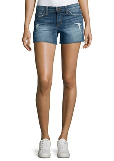 Joe's Jeans The Ozzie Mid-Rise Cutoff Denim Shorts