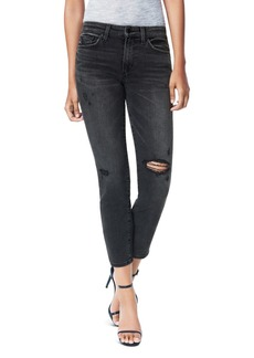 Joe's Jeans The Scout Distressed Slim-Straight Jeans in Anise