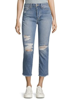 Joe's Jeans The Smith High-Rise Straight Ankle Jeans