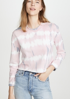 Joe's Jeans The Tie Dye Cropped Sweatshirt