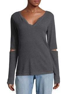 Joe's Jeans Thermal Rib-Knit Sweatshirt