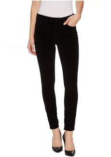 Joe's Jeans Velvet Icon Midrise Skinny Ankle Jean In Black Cat