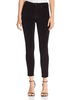Joe's Jeans Velvet Skinny Jeans in Black
