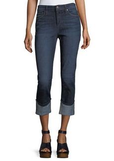 Joe's Jeans Wide-Cuff Crop Jeans