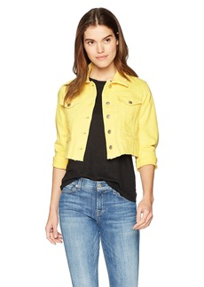 Joe's Jeans Women's 80'S Crop Jacket  L