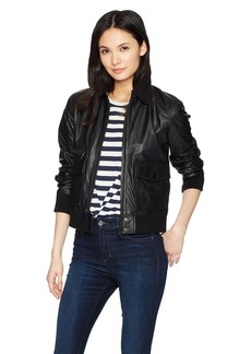 Joe's Jeans Women's Billie Leather Jacket  M