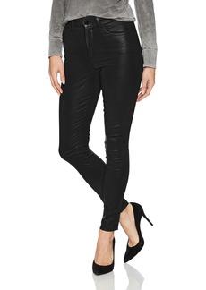 Joe's Jeans Women's Charlie High Rise Coated Skinny Ankle Jean Black LIQ5748