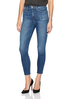 Joe's Jeans Women's Charlie High Rise Crop Jean with Cut Hem
