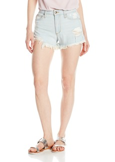 Joe's Jeans Women's Charlie High Rise Distressed Light Wash Jean Short