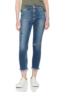 Joe's Jeans Women's Charlie High Rise Skinny Crop Jean with Fray