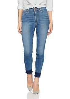 Joe's Jeans Women's Charlie High Rise Skinny Mended Hem Crop Jean
