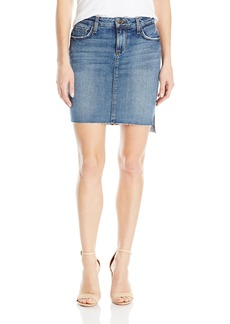 Joe's Jeans Women's High Low Pencil Jean Skirt