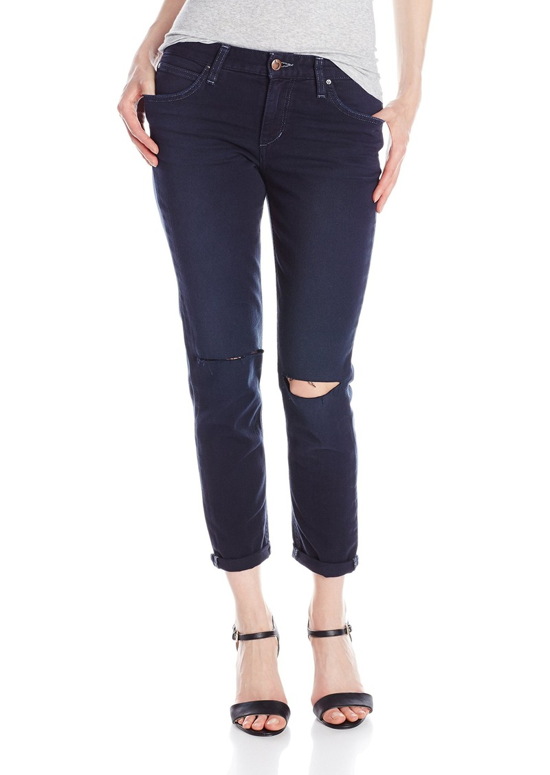Joe's Jeans Women's Collector's Edition Slim Boyfriend Crop Jean