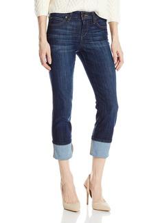 Joe's Jeans Women's Cool Off Clean Cuffed Crop Jean in