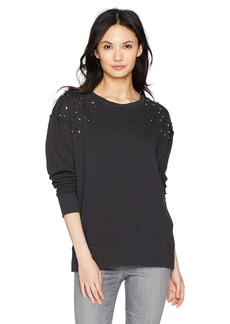 Joe's Jeans Women's Crystal Sweatshirt  L