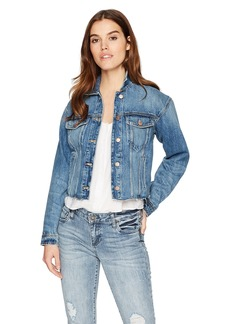 Joe's Jeans Women's Cut Off Denim Jacket dyanna M