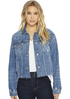 Joe's Jeans Women's Cut Off Denim Jacket  L
