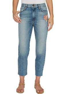 Joe's Jeans Women's Debbie High Rise Straight Crop Ankle Jean