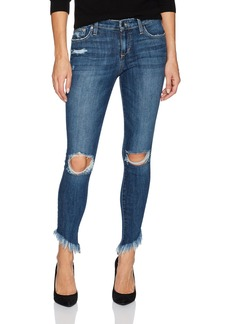 Joe's Jeans Women's Icon Diagonal Hem Midrise Skinny Ankle Jean