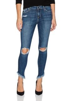 Joe's Jeans Women's Diagonal Hem Icon Midrise Skinny Ankle Jean
