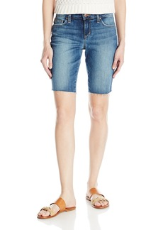 Joe's Jeans Women's Finn Midrise Cut Off Bermuda Jean Short