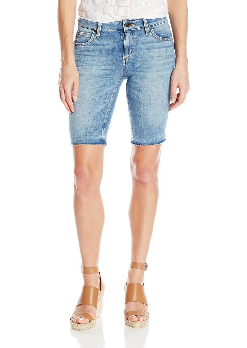 Joe's Jeans Women's Finn Midrise Cut Off Burmuda Jean Short