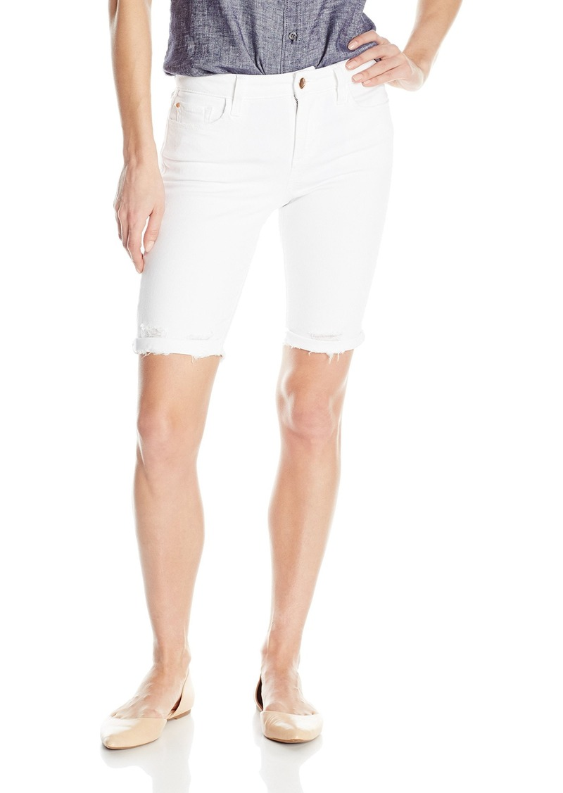 Joe's Jeans Women's Finn Midrise Cut Off Burmuda Jean Short