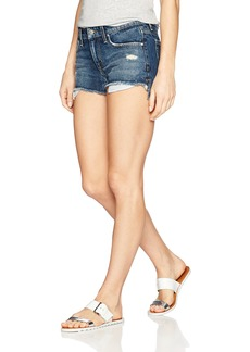 Joe's Jeans Women's High Low Cut Off Jean Short