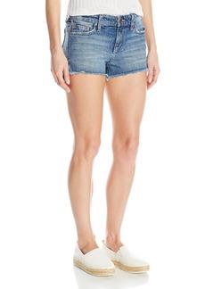 Joe's Jeans Women's High Low Midrise Cut Off Jean Short