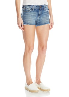 Joe's Jeans Women's High Low Midrise Cut Off Jean Short