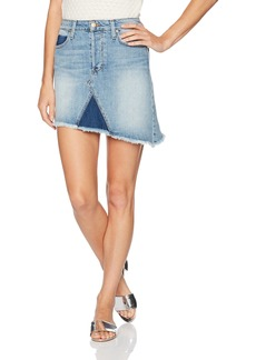 Joe's Jeans Women's High Rise Asymmetrical Fray Hem Skirt
