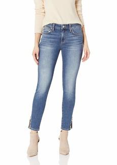 Joe's Jeans Women's ICON Midrise Skinny Ankle GEM Slit Jean