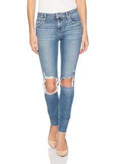 Joe's Jeans Women's Icon Midrise Skinny Ankle Jean with Cut Hem