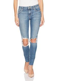 Joe's Jeans Women's Icon Midrise Skinny Ankle Jean with Cut Hem