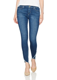 Joe's Jeans Women's Icon Midrise Skinny Ankle with Tulip Hem Jean