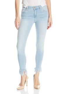 Joe's Jeans Women's Icon Midrise Skinny Crop Jean with Frayed Hem