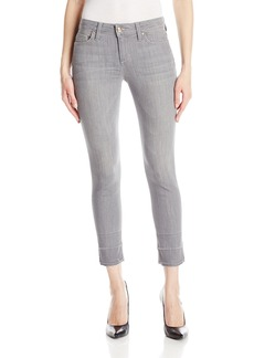 "Joe's Jeans Women's Icon Midrise Skinny Crop with 2"" Released Hem"