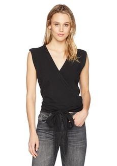Joe's Jeans Women's Luliana Wrap Blouse  L